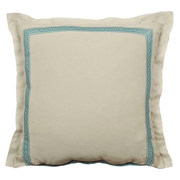 Alternate image 1 for Rose Tree Placio European Pillow Sham in Seafoam