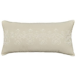 Rose Tree Placio Oblong Throw Pillow in Seafoam