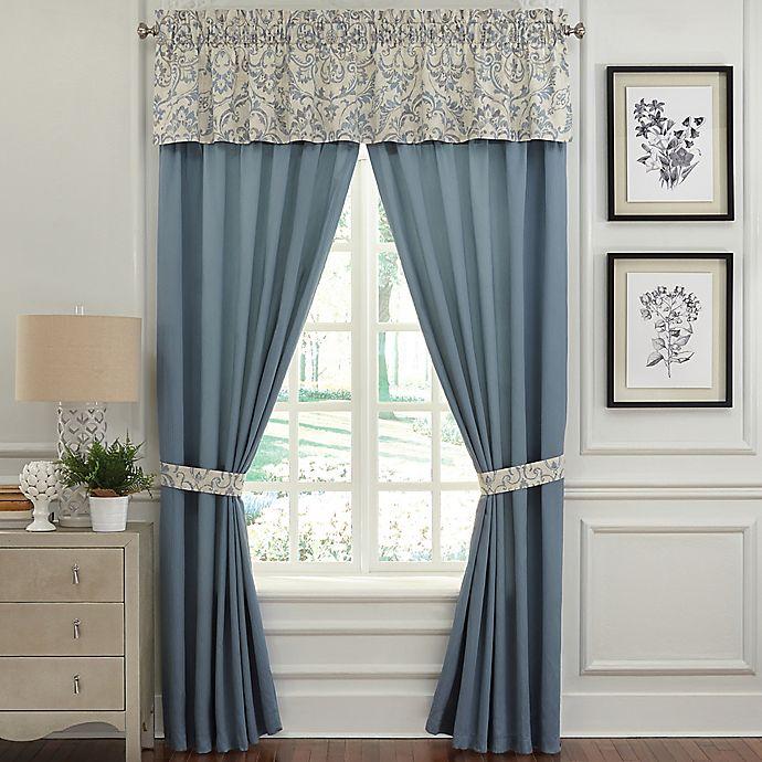 Alternate image 1 for Rose Tree Placio 84-Inch Rod Pocket Window Curtain Panel Pair