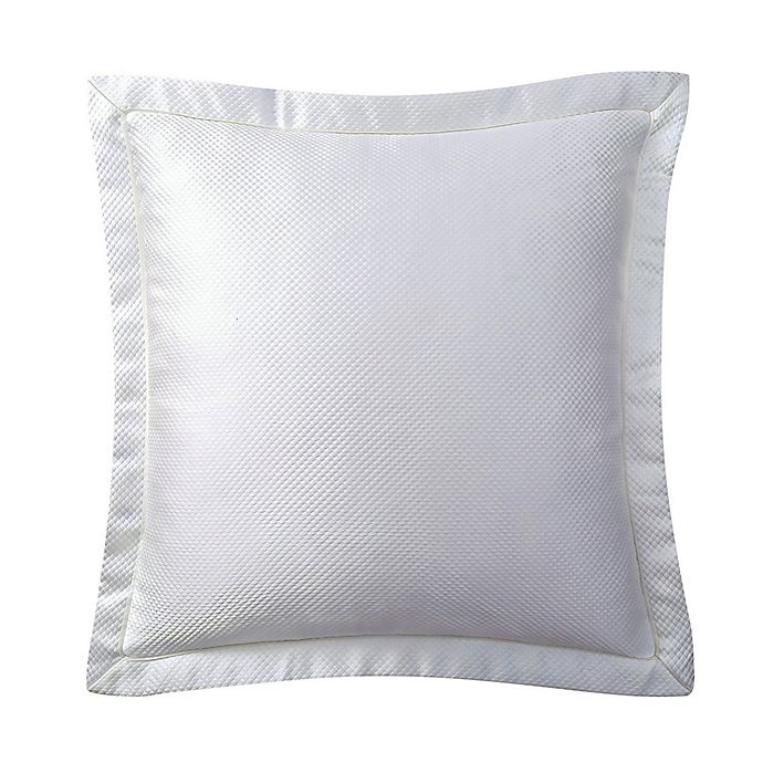 Alternate image 1 for Charisma® Dianti European Pillow Sham in White