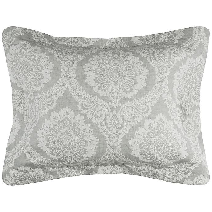 Alternate image 1 for Rizzy Home Isabella Standard Pillow Sham in Ivory