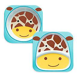 SKIP*HOP® Zoo Melamine Tableware - Giraffe