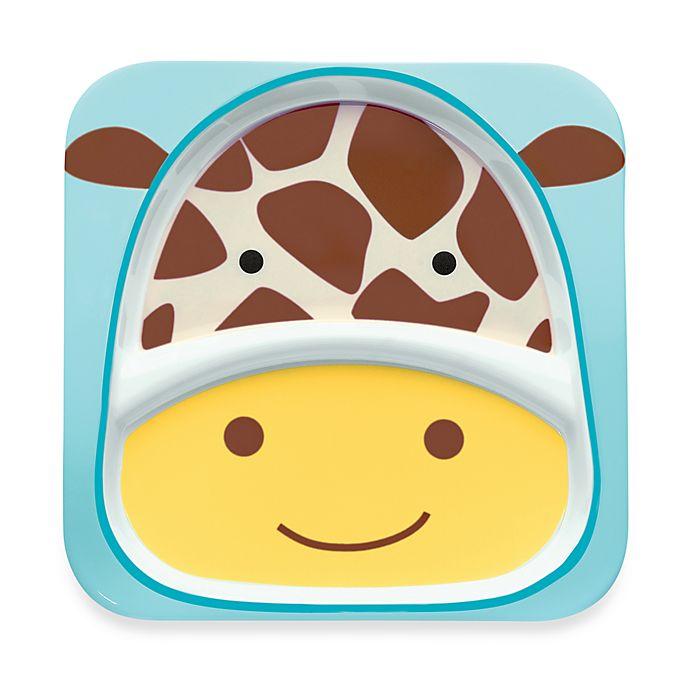 Alternate image 1 for SKIP*HOP® Zoo Melamine Plate in Giraffe