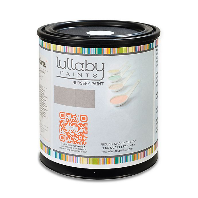Alternate image 1 for Lullaby Paints 1 qt. Eggshell Nursery Wall Paint in Baby Boy