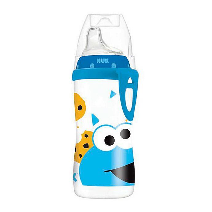 Alternate image 1 for NUK® Sesame Street® Cookie Monster 10 oz. Active Cup