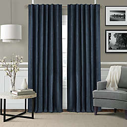 Elrene Leila Rod Pocket/Back Tab Matelasse Darkening Window Curtain Panel