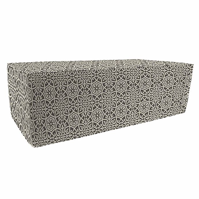 Print 20 Inch X 50 Inch Outdoor Pouf Ottoman Boxed In