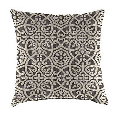 Print 20-Inch Square Outdoor Throw Pillow in Sunbrella® Fabric