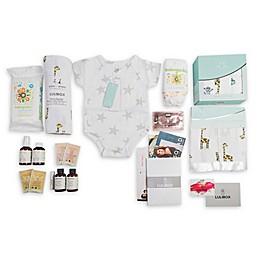 LuliBox 18-Piece Giraffe Bath and Bed Gift Set