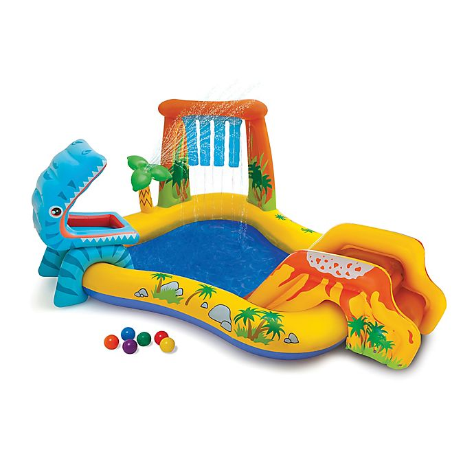 Alternate image 1 for Intex® Dinosaur Pool and Play Center