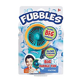 Little Kids® Fubbles Bubble Fan in Blue/Orange