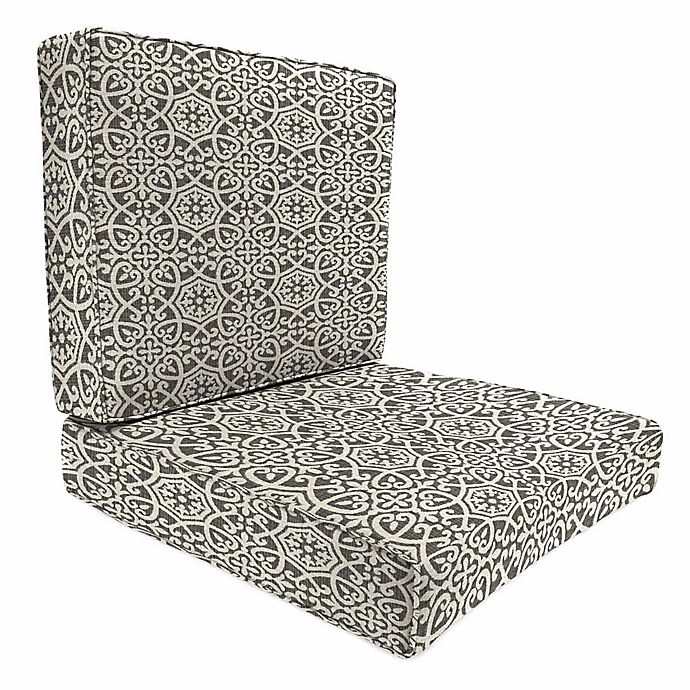 Print 45 Inch X 25 2 Piece Deep Seat Chair Cushion In Sunbrella Fabric