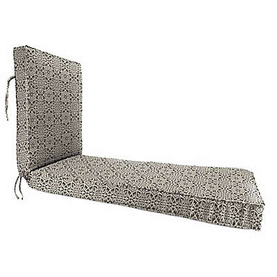 Print 80-Inch x 23-Inch Chaise Lounge Cushion in Sunbrella® Canvas