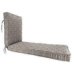 Print 80-Inch x 23-Inch Chaise Lounge Cushion in Sunbrella® Canvas