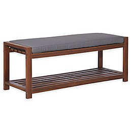 Forest Gate Arvada Acacia Wood Outdoor Bench