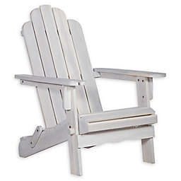Forest Gate Arvada Acacia Outdoor Folding Adirondack Chair