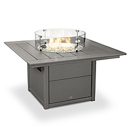 POLYWOOD® 42-Inch Square Fire Pit Table