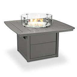 POLYWOOD® 42-Inch Square Nautical Fire Pit Table