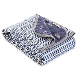 Burt's Bees Baby® On the Road Organic Cotton Receiving Blanket in Indigo