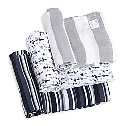 Burt's Bees Baby® Breezy Palms Organic Cotton Muslin 3-Pack Swaddle Blankets