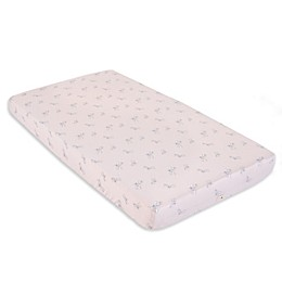 Burt's Bees Baby® Dragonfly Organic Cotton Fitted Crib Sheet in Dawn