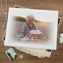 Personalized Memorial Photo Keepsake Memory Box