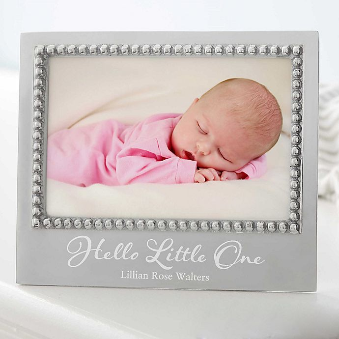630ef476976 Mariposa® Personalized Baby Statement Frame | Bed Bath & Beyond