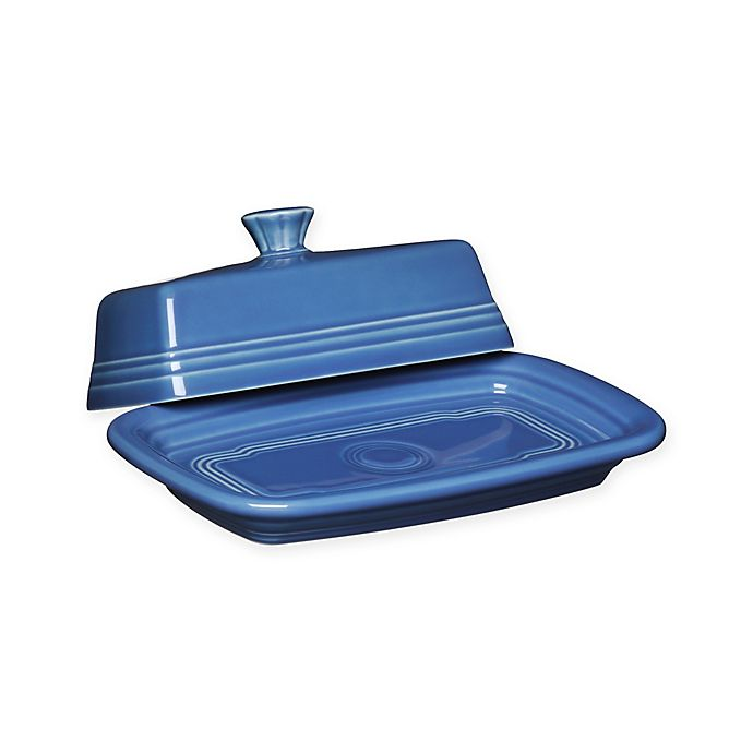 Alternate image 1 for Fiesta® Extra-Large Covered Butter Dish
