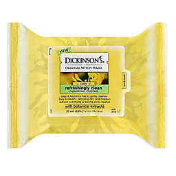 Dickinson's® 25-Count Original Witch Hazel Refreshingly Clean Towelettes