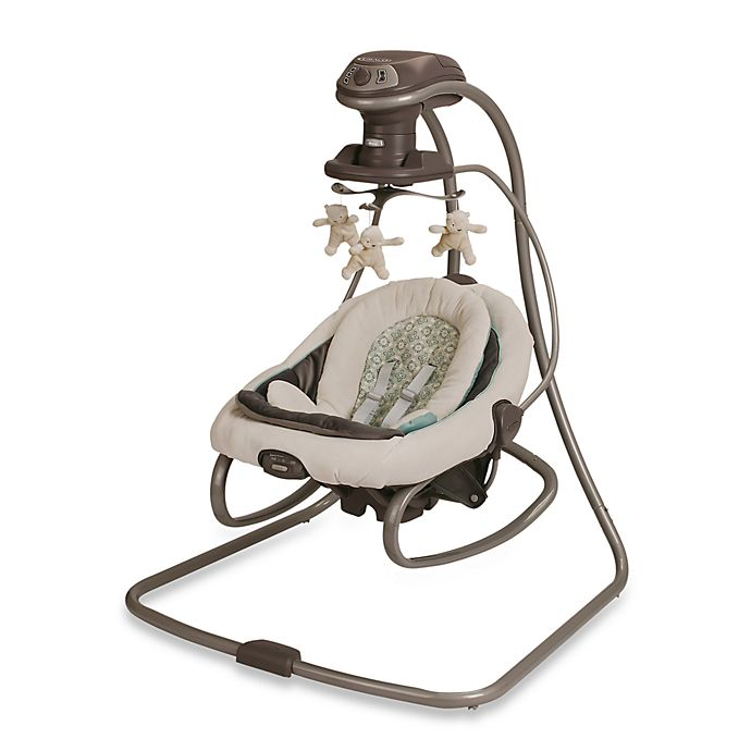 Alternate image 1 for Graco® DuetSoothe™ Swing and Rocker in Winslet™