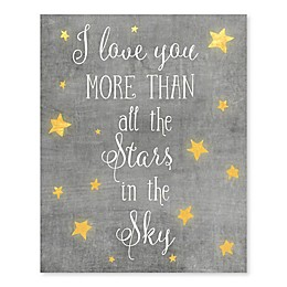 Love More Stores Canvas Wall Art