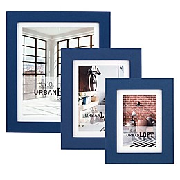 Malden®  Urban Loft Matted Wood Photo Frame