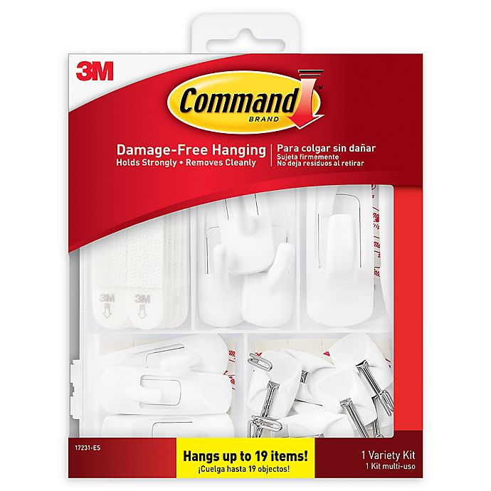 Alternate image 1 for 3M Command 19-Pack Variety Hanging Kit
