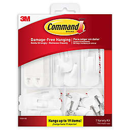3M Command Variety Hanging Kit (Pack of 19)