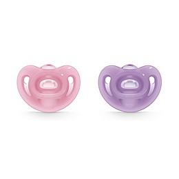 NUK® Sensitive™ Girl 0-6M Orthodontic Pacifiers