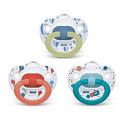 NUK® Boy 6-18M 3-Pack Orthodontic Pacifiers