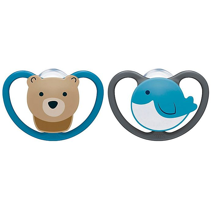 Alternate image 1 for NUK® Space™ Boy 6-18M Orthodontic Pacifiers