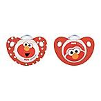 NUK® Sesame Street® 0-6M 2-Pack Orthodontic Pacifiers
