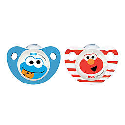 NUK® Sesame Street® 6-18M 2-Pack Orthodontic Pacifiers