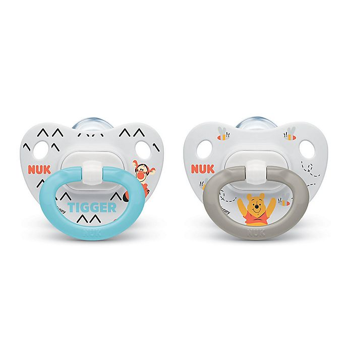 Design Or Color May Vary Nuk Disney Winnie Pooh//Mickey Mouse Soother Clip WINNIE POOH