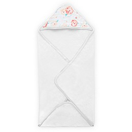 aden® by aden + anais Full Bloom Hooded Towel in Pink