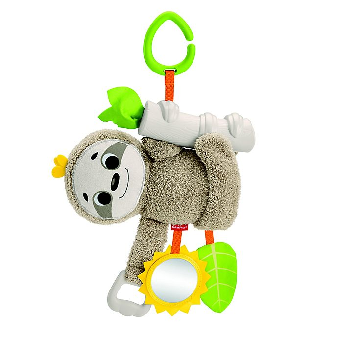 Alternate image 1 for Fisher-Price® Slow Much Fun Stroller Sloth