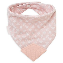 BooginHead® Stars Teether Bib in Pink
