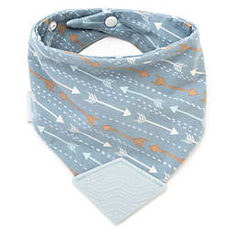 BooginHead® Blue Arrows Teether Bib