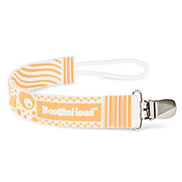 BooginHead® PaciGrip Silicone Teether Strap in Orange