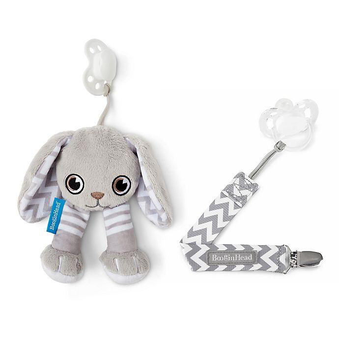 Alternate image 1 for BooginHead® Bunny 2-Piece PaciPal & PaciGrip Set