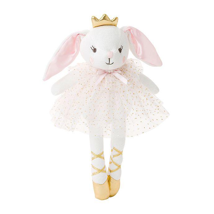 Alternate image 1 for Elegant Baby® Belle the Bunny Knit Plush Toy