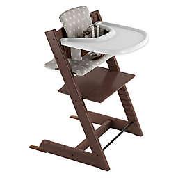 Stokke® 4-Piece Tripp Trapp® High Chair Complete Bundle Set in Walnut