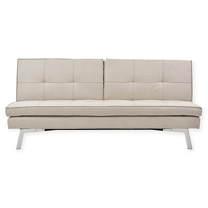 Alternate image 1 for Sealy® Jackson Splitback Convertible Sofa in Sand