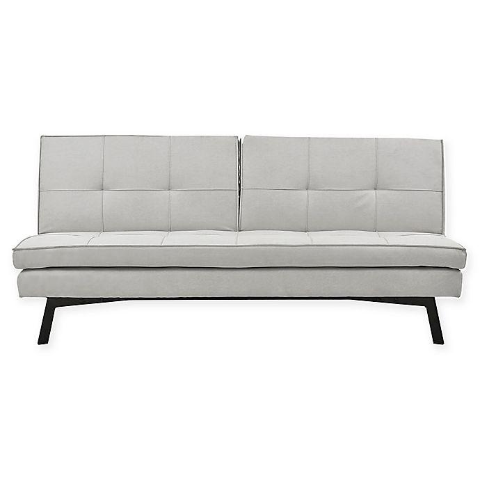 Alternate image 1 for Sealy® Jackson Splitback Convertible Sofa in Steel
